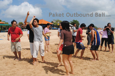 game team building bali, bali team building games
