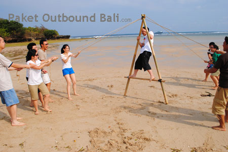 outbound team building bali, bali outbound, paket outbound murah