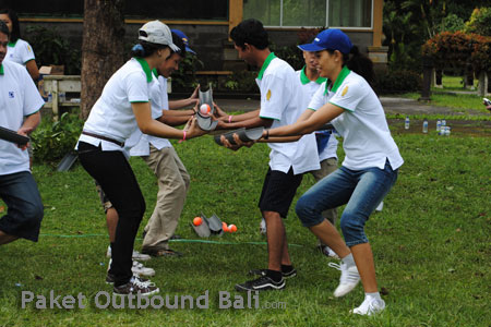 team building outbound, outbound di bali
