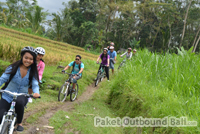 cycling di sawah