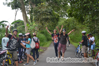 cycling fun games di bali